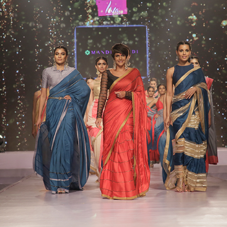 Kolkata Fabric Expo explores new possibilities for sarees made with Liva